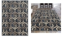 "KM Home CLOSEOUT! 3796/1021/Gray Imperia Gray 5'3"" x 7'3"" Area Rug"