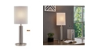 """Artiva USA Catriona 27"""" Modern Slim Oval LED Touch Table Lamp"""