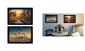 """Trendy Decor 4U Days Not Forgotten Collection By Jim Hansen, Printed Wall Art, Ready to hang, Black Frame, 20"""" x 14"""""""