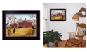 """Trendy Decor 4U Autumn Gold By Billy Jacobs, Printed Wall Art, Ready to hang, Black Frame, 18"""" x 14"""""""