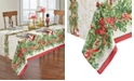 """Elrene Holly Traditions Holiday Tablecloth - 52"""" x 70"""""""