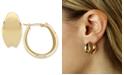 Macy's Bold Graduated Hoop Earrings Set in 14k Gold