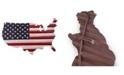 Bey-Berk USA Flag Metal Decor