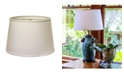 Macy's Cloth&Wire Slant Modified Empire Hardback Lampshade with Washer Fitter