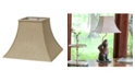 Macy's Cloth&Wire Slant Square Bell Hardback Lampshade with Washer Fitter