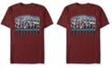 Marvel Men's Avengers Endgame Hero Panels, Short Sleeve T-shirt