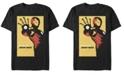 Marvel Men's Iron Man Invincible Poster, Short Sleeve T-shirt