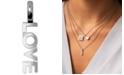 Alex Woo Mini Love Charm Pendant in Sterling Silver