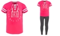 Ideology Big Girls Lace-Up Better-Print T-Shirt, Created for Macy's