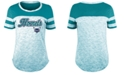 5th & Ocean Women's Charlotte Hornets Space Dye T-Shirt