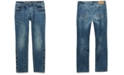 Seven7 Men's Belmore Slim Straight-Fit Power Stretch Jeans with Magnetic Fly and Stay-Put Closure