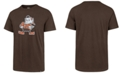 '47 Brand Men's Cleveland Browns Knockout Fieldhouse T-Shirt
