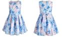 Bonnie Jean Big Girls Pleated Floral Dress