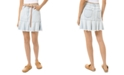 Michael Kors Frayed-Hem Jean Skirt