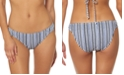 Jessica Simpson Striped Hipster Bikini Bottoms