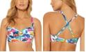 Bleu by Rod Beattie Printed Underwire D/DD-Cup Bikini Top