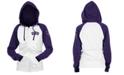 5th & Ocean Colorado Rockies Women's Zip-Up Contrast Hoodie
