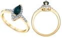 Macy's Sapphire (3/4 ct. t.w.) & Diamond (1/5 ct. t.w.) Ring in 14k Gold