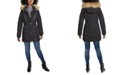 GUESS Faux-Fur Trim Hooded Puffer Coat, Created for Macy's