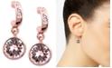 Givenchy Earrings, Rose Gold-Tone Swarovski Silk Crystal Drop Earrings