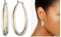 """Anne Klein Gold-Tone Medium Hoop Earrings, 1.7"""""""