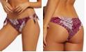 Volcom Juniors' Palm Squad Printed Side-Tie Bikini Bottoms