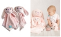"""Happycare Textiles Snoogie Boo 2-Pack Lovey and Security Blanket with Stuffed Animal Style, 18"""" x 18"""""""