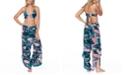 Raisins Juniors' Crystal Cove Printed Anya Bikini Top & Swim Cover-Up Pants