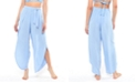Jessica Simpson Solid Tie-Waist Cover-Up Beach Pants