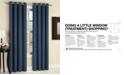 "Sun Zero Maximus Woven Vertical Stripe Blackout 54"" x 84"" Curtain Panel"