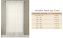 """Miller Curtains CLOSEOUT! Solunar Voile 54""""x 63"""" Insulating Sheer Curtain Panel"""
