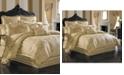 J Queen New York Napoleon Gold California King 4-Pc. Comforter Set