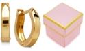 Macy's Children's Hinged Cuff Hoop Earrings in 14k Gold