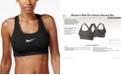 Nike Women's Pro Classic Mid-Impact Swoosh Sports Bra