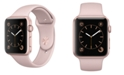 Apple Watch Series 2 42mm Rose Gold Aluminum Case with Pink Sand Sport Band