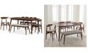Furniture Flora 6-Pc. Dining Set, Quick Ship