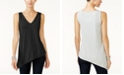 INC International Concepts I.N.C. Petite Asymmetrical Tank Top, Created for Macy's