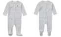 Polo Ralph Lauren Ralph Lauren Baby Boys Striped Footed Cotton Coverall