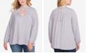 Jessica Simpson Trendy Plus Size Tanie Choker Top