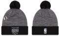 New Era Sacramento Kings Pin Pom Knit Hat