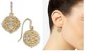 Charter Club Crystal Filigree Drop Earrings, Created for Macy's