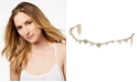 INC International Concepts I.N.C. Gold-Tone Mixed Metal Crystal Hair Wire, Created for Macy's