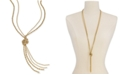 """Charter Club Double Rope Knotted Lariat Necklace, 32"""" + 2"""" extender, Created for Macy's"""