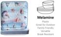 Certified International Ocean Dream Melamine Dinner Plates, Set of 6