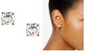 Givenchy Earrings, Gold-Tone Crystal Stud Earrings