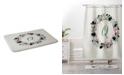 Deny Designs Iveta Abolina Silver Dove Christmas Q Bath Mat