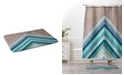 Deny Designs Iveta Abolina Winter Blue Bath Mat