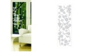 Brewster Home Fashions Blossom Etched Glass
