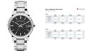 Burberry Watch, Men's Swiss Stainless Steel Bracelet 38mm BU9001
