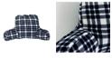 THRO Classic Plaid Fleece Bed Rest